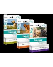 BROS  krople przeciw pchłom i kleszczom dla psów HAPPS do 10 KG