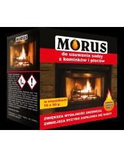 BROS Morus - proszek do usuwania sadzy z kominków i pieców 10 x 50 G