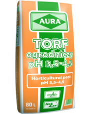 TORF ogrodniczy pH 3,5 - 4,5 80 L