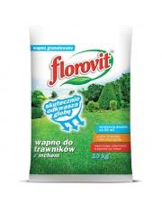 FLOROVIT wapno do trawników z mchem 10 Kg