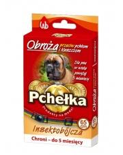 OBROŻA PCHEŁKA insektobójcza dla psa 65 CM