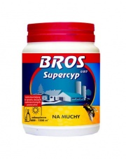 BROS Supercyp 6WP - preparat do oprysku na muchy 200 G